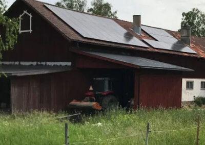 Solel i Morgongåva i Heby kommun