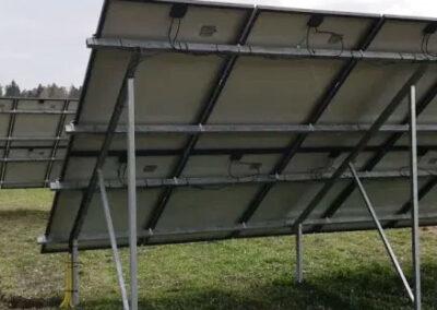 Solenergi från markställning i Fjärdhundra