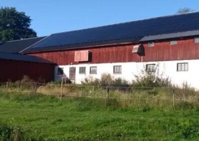 51 kW solceller på gård i Sala