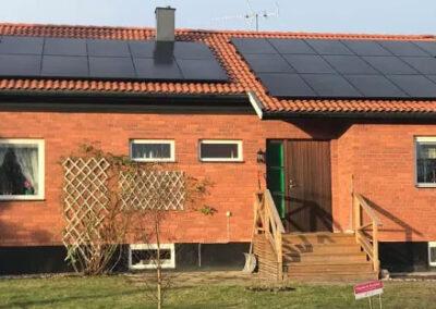 Installation av solceller i Sala – 9,7 kW